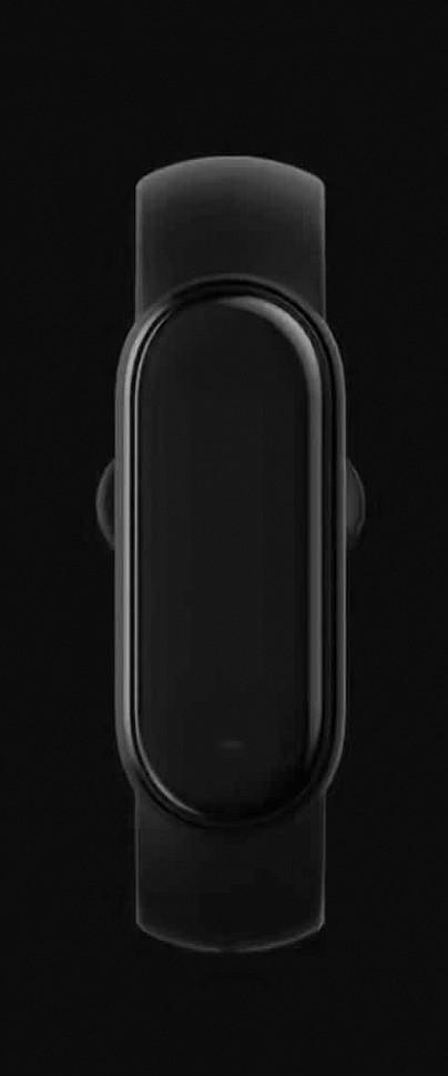 Xiaomi Mi Band 5 - вид сверху