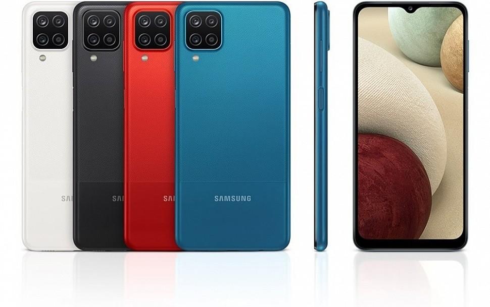 Samsung Galaxy A12 доступен в вариантах памяти 3/32 Гб и 4/64 Гб