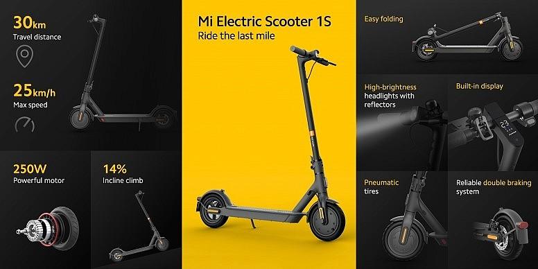 Основные преимущества и изменения Xiaomi Mi Electric Scooter 1S