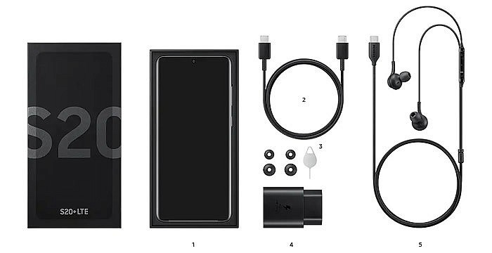 Комплектация Samsung Galaxy S20 FE