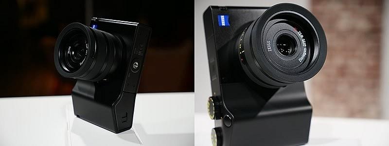 Камера Zeiss ZX1 на ОС Android с программой-редактором для обработки снимков Adobe Lightroom