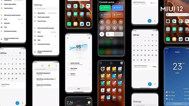Мобильная операционная система Xiaomi MIUI 12.5