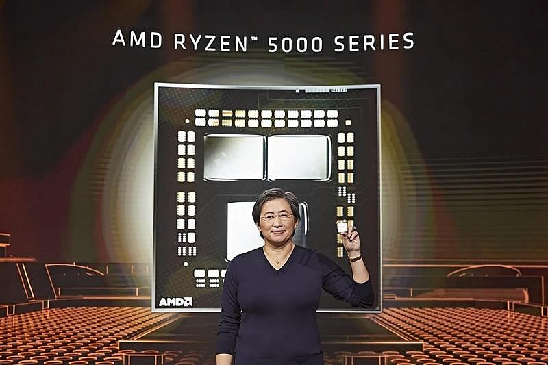 Представлены четыре новых процессора AMD линейки Ryzen 5000