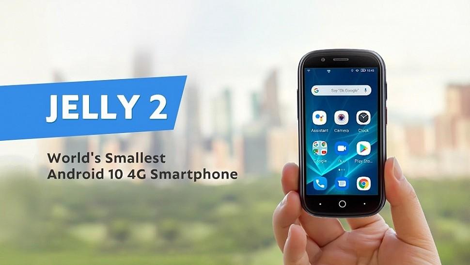 Телефон Jelly 2 от компании Unihertz