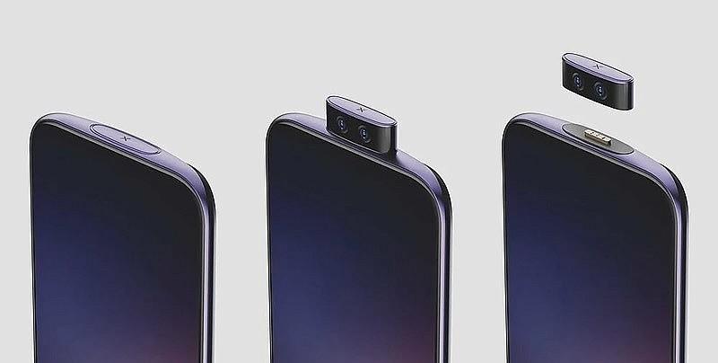 Концептуальный смартфон Vivo IFEA со съемным фронтальным модулем