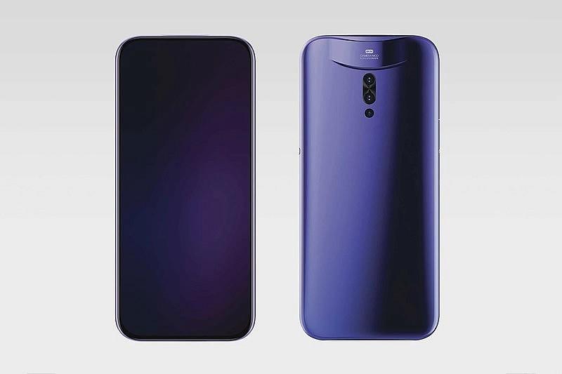 Передняя и задняя панель смартфона Vivo IFEA