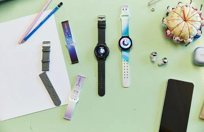 Ремешки для смарт-часов Samsung Galaxy Watch 4 изготовлены из экологически чистых материалов и пригодны для вторичной переработки