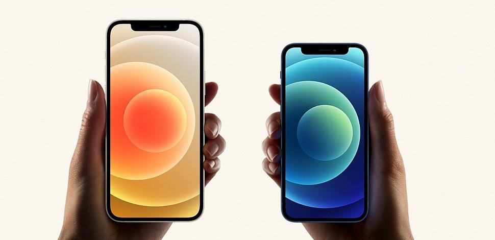 Базовые Apple iPhone 12 и Apple iPhone 12 Mini на A14 Bionic и двойной камерой