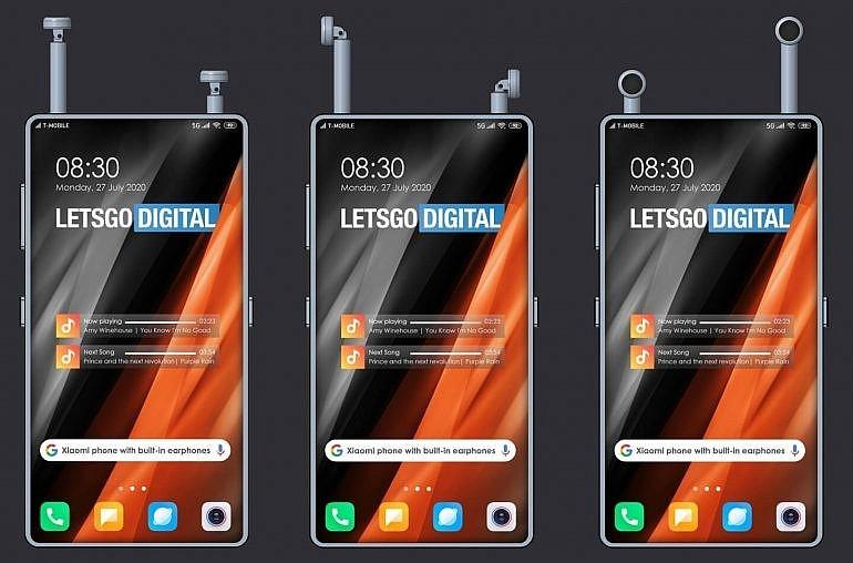 Смартфон Xiaomi с отсеками для хранения беспроводных наушников - варианты использования