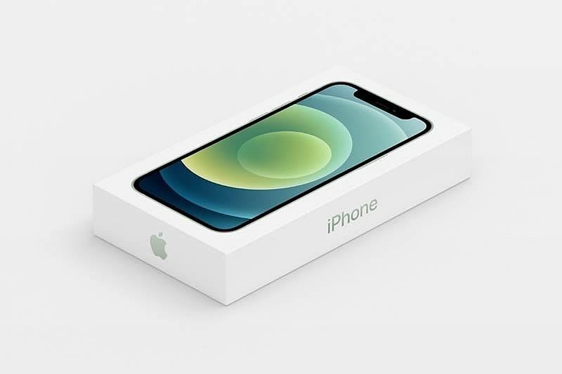 Новая упаковка iPhone 12 без наушников и зарядки