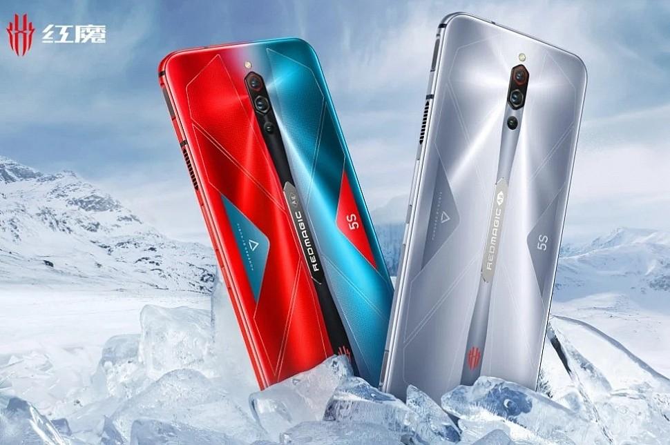 Новый игровой смартфон Nubia Red Magic 5S