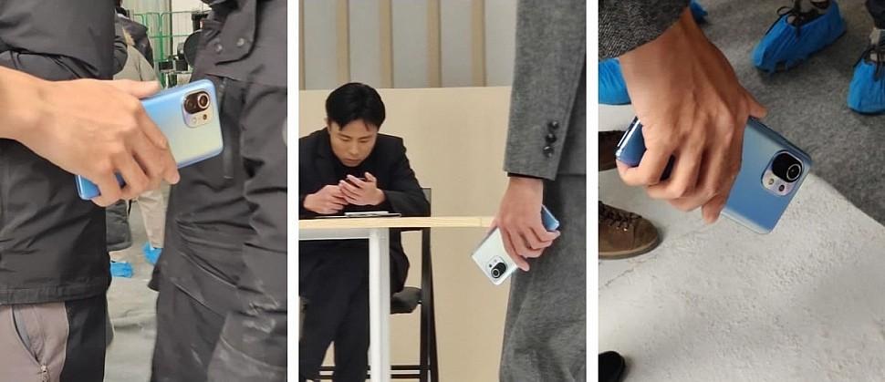 Живые фото Xiaomi Mi 11