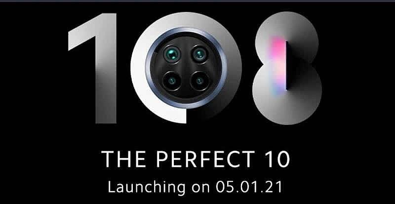 Дата анонса Xiaomi Mi 10i 5 января 2021г. в Индии
