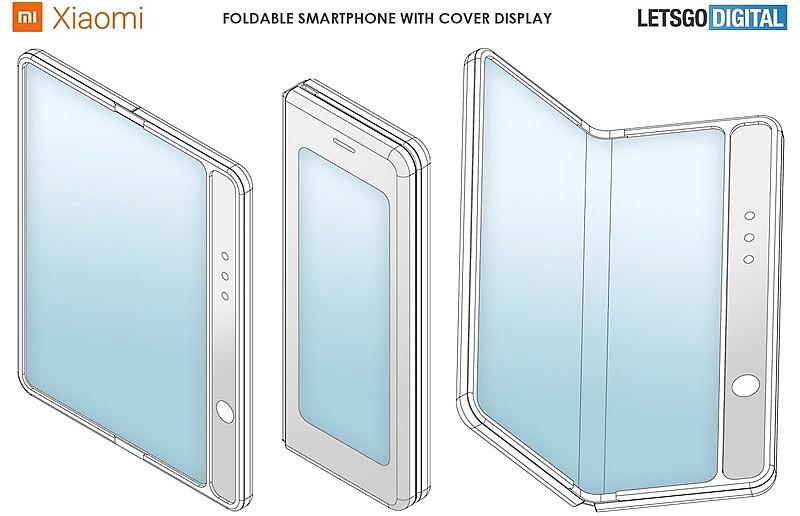 Складной телефон Xiaomi с внешним дисплеем