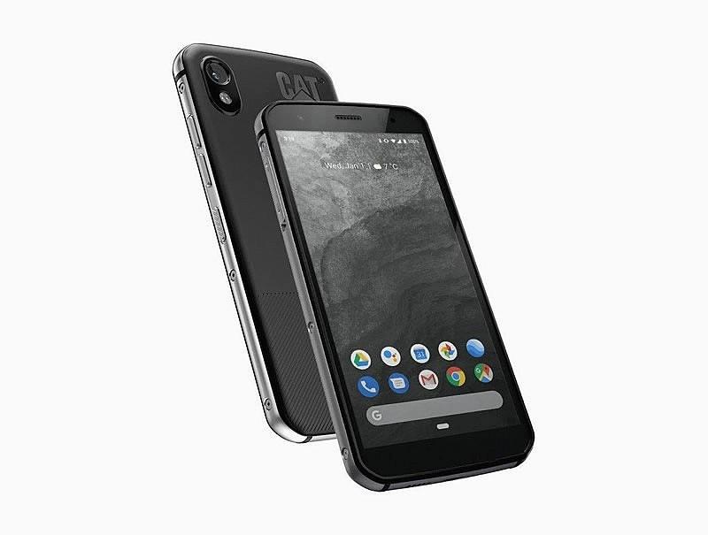 Одна из моделей защищенных смартфонов, выпущенных компанией Bullitt Group для Cat