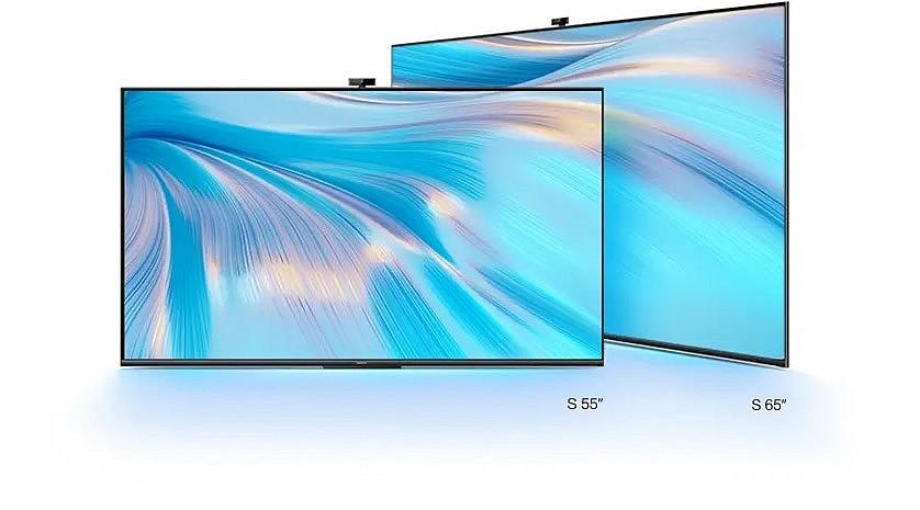Экраны Huawei Vision S 55 и 65 дюймов имеют разрешение 4К и частоту обновления кадров 120 Гц