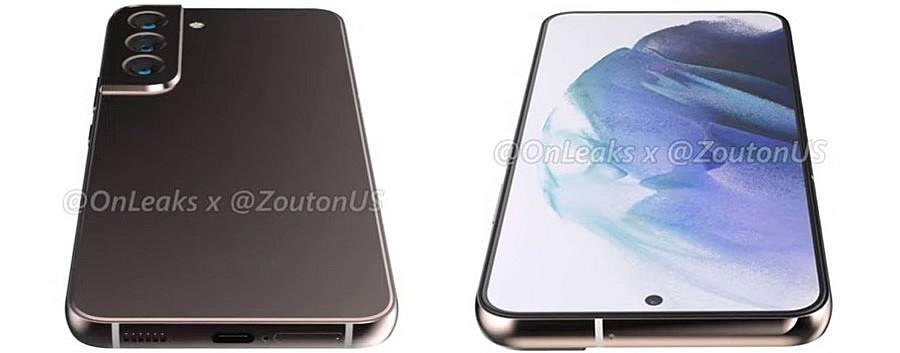 Модуль камеры Samsung Galaxy S22 не будет встроен в рамку корпуса, как у Samsung Galaxy S21