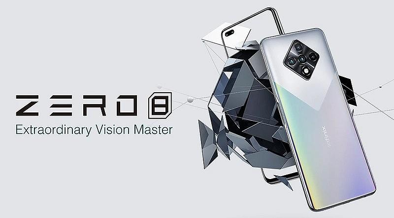 Infinix Zero 8 - новый смартфон от китайского бренда