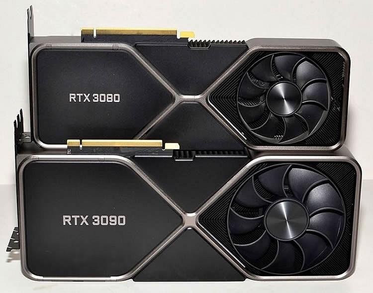 Nvidia RTX 3090 Ti по слухам будет иметь колоссальные 450 Вт TDP и VRAM 21 Гбит/сек