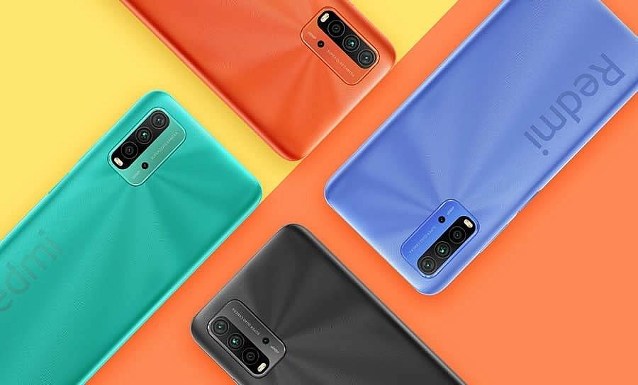 Redmi 9T - доступны серый, синий, оранжевый и зеленый цвета
