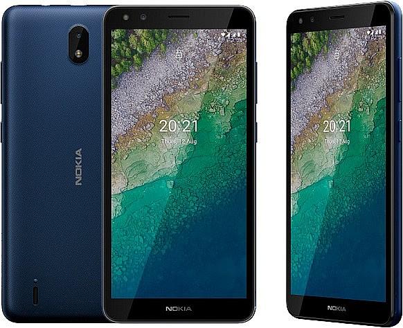 Nokia C01 Plus выполнен в компактном корпусе с 4G-связью, HD+ экраном, емкой батареей на 3000 мА/ч