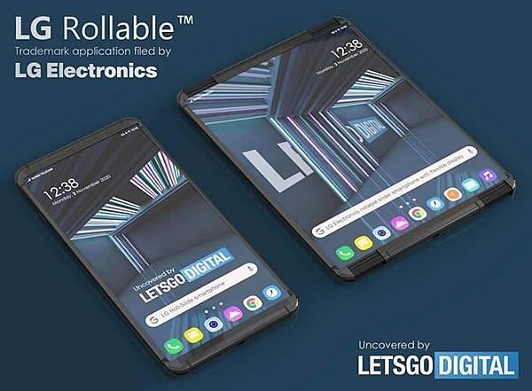 Раздвижной смартфон с экраном-рулоном LG Rollable