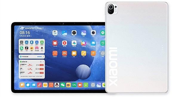 Предполагаемый рендеринг Xiaomi Mi Pad 5