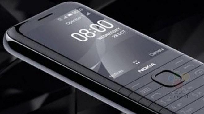 Nokia 8000 4G в премиальном дизайне
