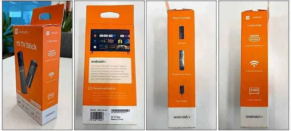 Xiaomi Mi TV Stick - упаковка