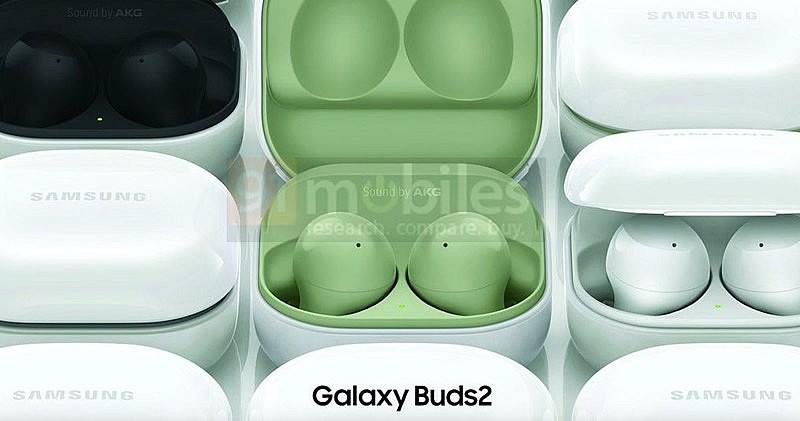 Samsung Galaxy Buds 2 будут доступны в белом, черном, фиолетовом и зеленом цветах