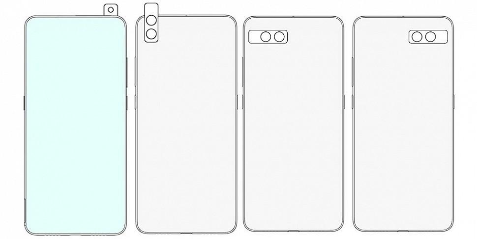 Вращающаяся камера Xiaomi - варианты положения камеры №1