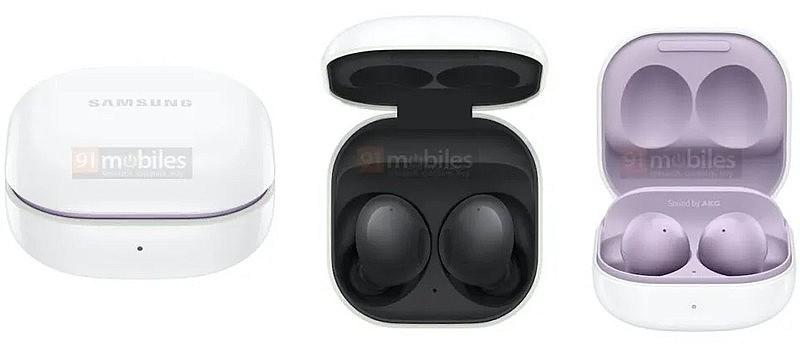 Внешний вид и зарядный чехол будет похож на Galaxy Buds Live и Galaxy Buds Pro