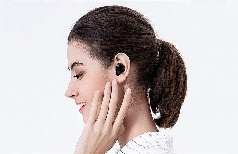 Xiaomi Mi True Wireless Earbuds Basic 2S - ультралегкие, одновременная подача сигнала на оба наушника, сенсорный режим управления, разъем зарядки USB Type-C