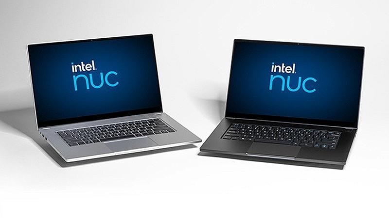 Цветовые решения ноутбука Intel NUC M15