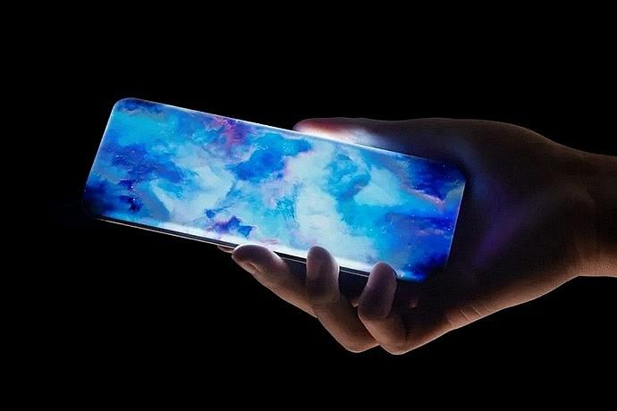 Концептуальный телефон Xiaomi с загнутым со всех сторон экраном-водопадом