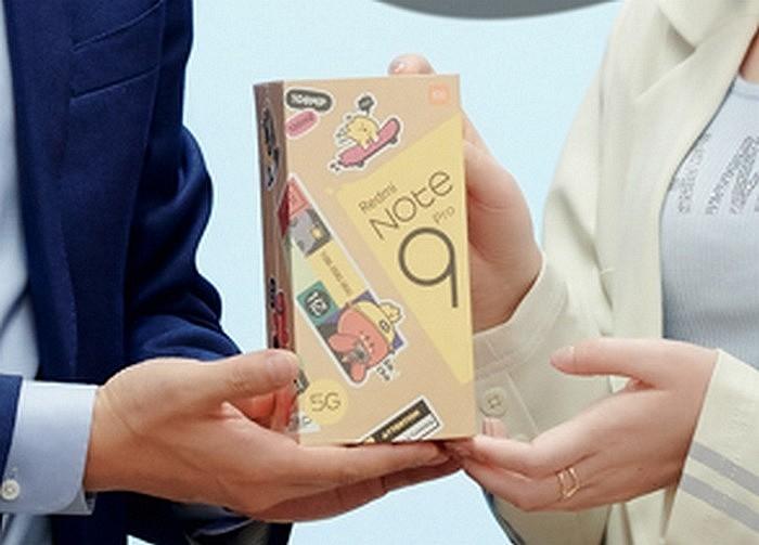 Дизайн новой упаковки смартфона Redmi Note 9 Pro 5G