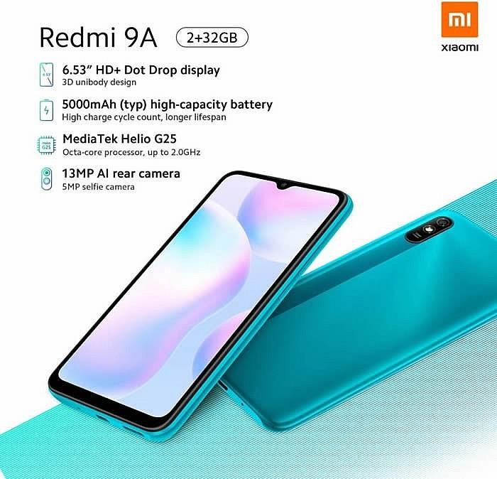 Характеристики Redmi 9A