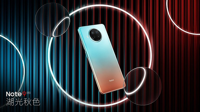 Официальное тизерное изображение Redmi Note 9 Pro 5G