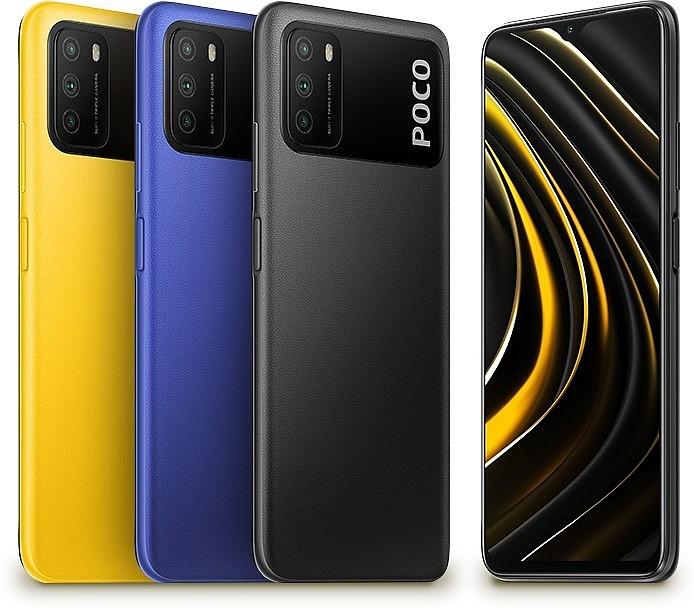 Новый смартфон бюджетного уровня Poco M3 с батареей 6000 мА/ч и необычным блоком камер