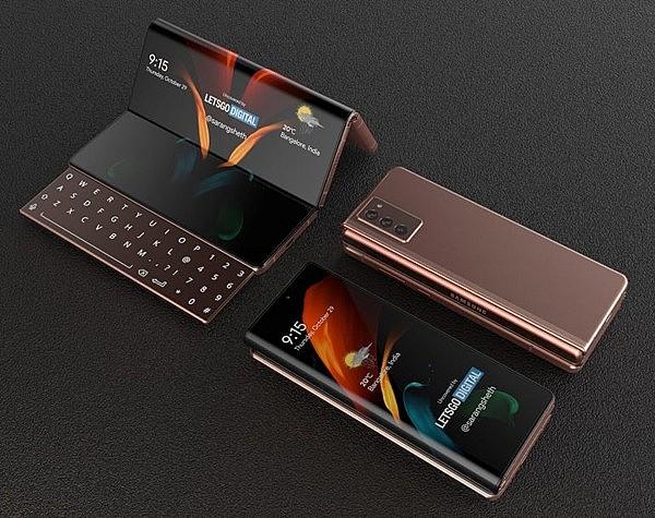 Концепт смартфона-гармошки Samsung