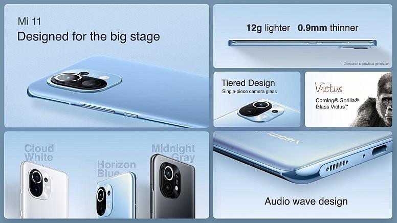 Xiaomi Mi 11 имеет топовые характеристики