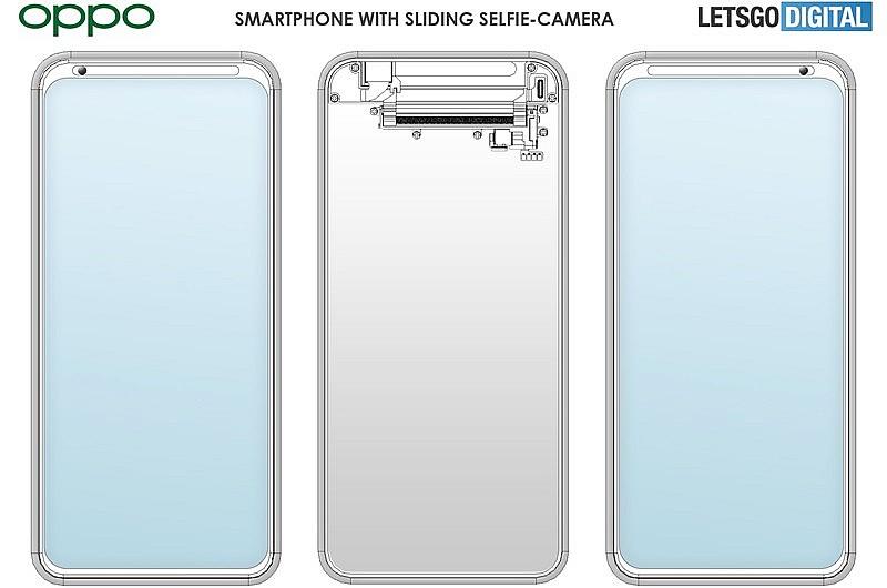 Схема конструкции подвижной селфи-камеры