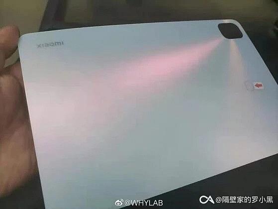 Реальное изображение задней панели Xiaomi Mi Pad 5 показывает его схожесть с Apple iPad Pro