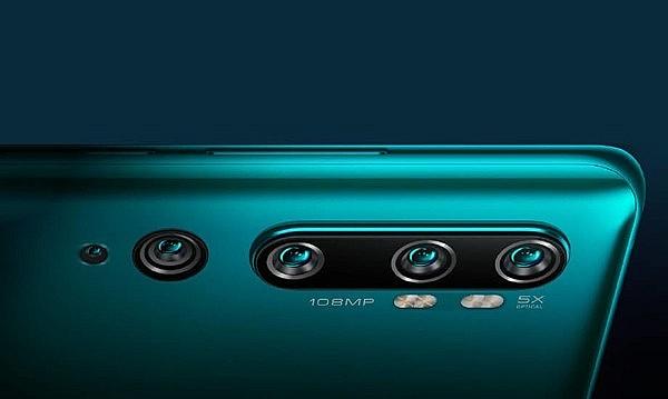 108 Мп камера Xiaomi Mi Note 10