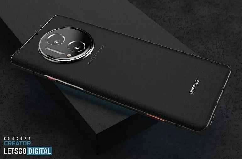 Концепция OnePlus 10 Pro предусматривает камеру Hasselblad с бионическим объективом и стильную отделку из искусственной кожи