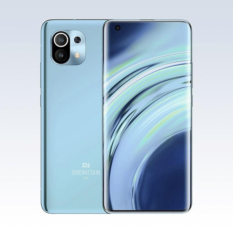 Концептуальное видение Xiaomi Mi 11 Бена Гескина