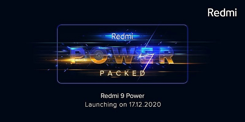 Дата выхода Redmi 9 Power India 17 декабря 2020г.
