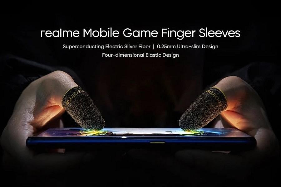 Специальные напалечники от Realme для мобильных геймеров