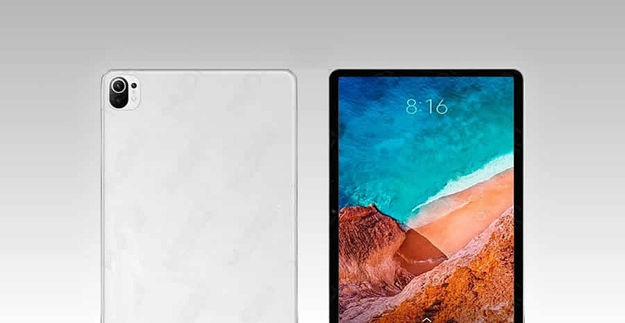 Предварительные рендеры предстоящей новинки Xiaomi Mi Pad 5. Система с двумя камерами имитирует стиль дизайна Xiaomi Mi 11