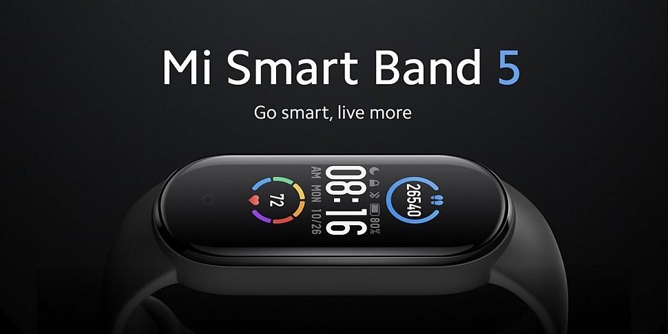 Новинка - фитнес-браслет Xiaomi Mi Smart Band 5